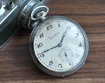 Resios Pocket Watch, Swiss Pocket Watch, Pocket Watch, Swiss Watch, Mechanical Pocket Watch, Antique Pocket Watch, Vintage Pocket Watch