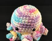 Multicolored Octopus Amigurumi (Unfinished Design)