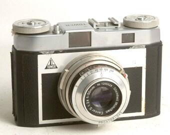 Retro Rangefinder Tower 51 35mm Film Camera, Vintage Rangefinder, Vintage Tower Camera C1042