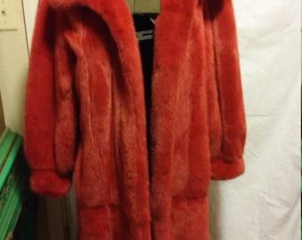 I. Magnin mink reversible coat