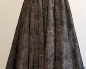 Long Skirt Steampunk  bohèmia taffetas