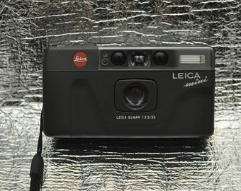 Special Edition Leica Mini Barcelona Olympia 1992 Point and Shoot Camera