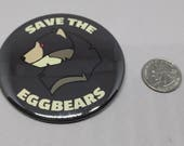 Save the Eggbears Button