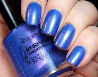 Shimmer nail polish - serenity -7ml nailpolish - vernis d'ongle sale