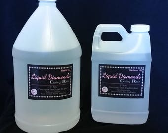 Liquid Diamonds epoxy 192 oz. (1.5 gallons)