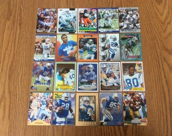 100 Indianapolis Colts Football Cards