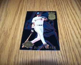 1994 Barry Bonds Ultra Home Run King Insert Card #7