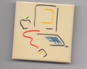 VINTAGE APPLE COMPUTER Pin