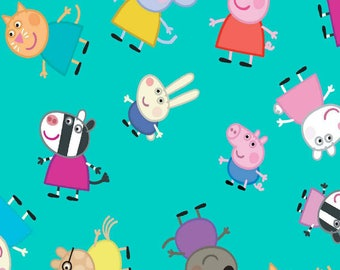 Peppa Pig and Friends ~Custom Made~ Crib/Toddler Bedding Items