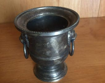 Silver Toothpick Holder