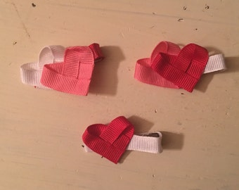 Valentine ribbon sculpture