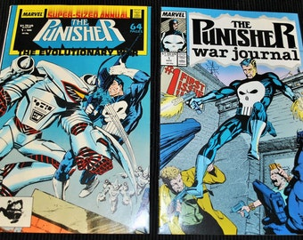 Vintage Comics The Punisher The Evolutionary War and War Journal
