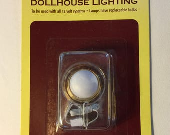 One Inch Scale Ceiling Light for a Dollhouse