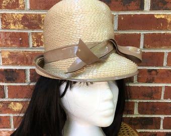 Vintage Mod Plastic Hat