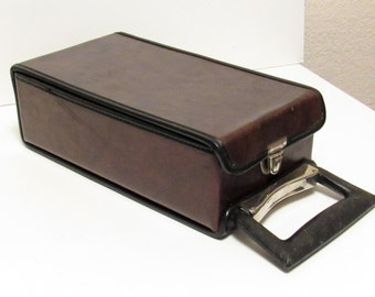 Vintage Cassette Tape Case, 10 slot
