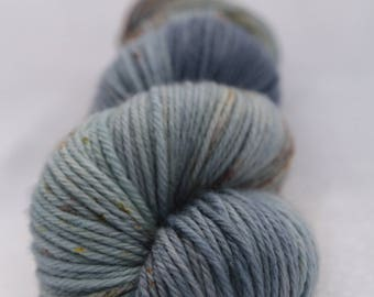 Hand-dyed yarn - sock yarn - superwash - merino - dyed-to-order - speckles - SEA SPRAY