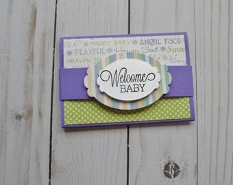 Baby Gift Card Holder -- Baby Gift Card Holder -- Gift Card Holder for Baby