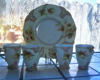 5 pc. Old Ivory by Herman Ohme ~ Insured Shipping Inclusive