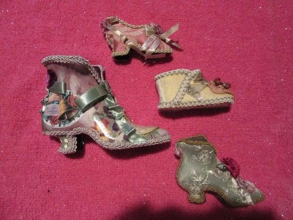 Four Wayne Kleski Victorian Shoes!