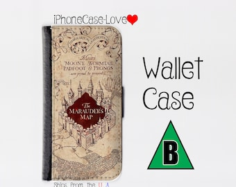 Harry Potter Galaxy S7 case - Harry Potter Galaxy S7 wallet case - Galaxy S7 case - Galaxy S7 wallet case