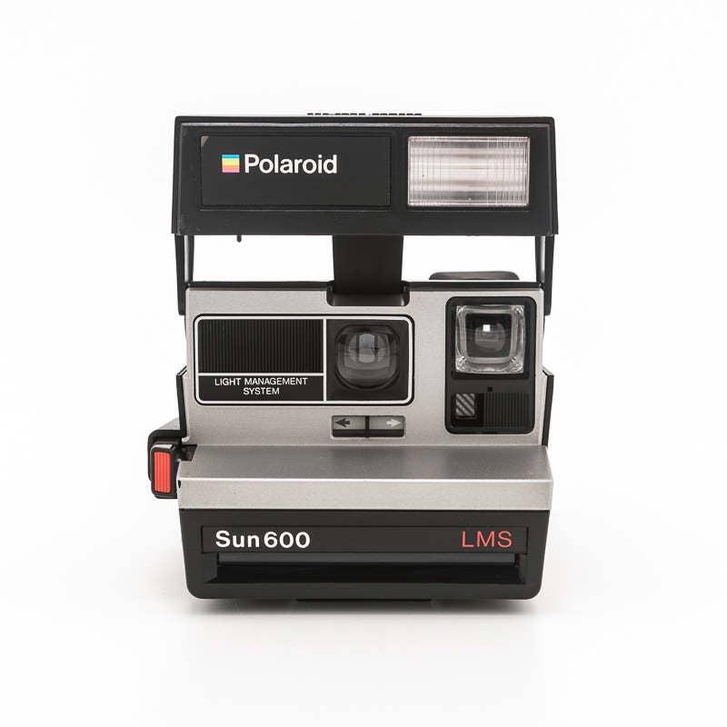polaroid sun 600 lms light management system film tested working 80s polaroid 600. Black Bedroom Furniture Sets. Home Design Ideas