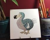 Extinct but not Forgotten, Dodo original illustartion, Raphus cucullatus, dodo art artwork