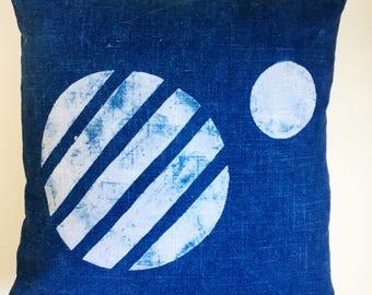 Mars Pillow // Indigo