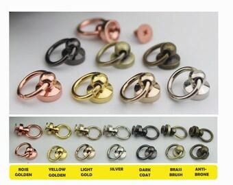 10 PCS Solid Handbag Connector for chain , Chain Connector,Screw Connector,bag accessories,  Handbag Supplier  KS-317