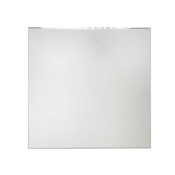 Square glass centerpiece mirror