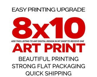 8x10 EASY PRINTING UPGRADE