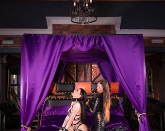 Hidden in plain sight bondage bed