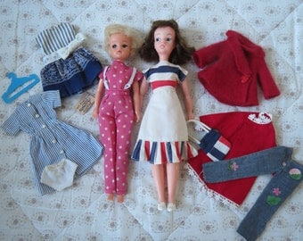 Vintage Sindy Doll and Vintage and an Evergreen made in HONG KONG