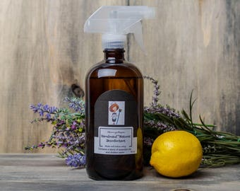 Tea Tree Spray - Cleaning Products - Natural Disinfectant - Natural Cleaning - Spring Cleaning - Eco Cleaning - Non Toxic