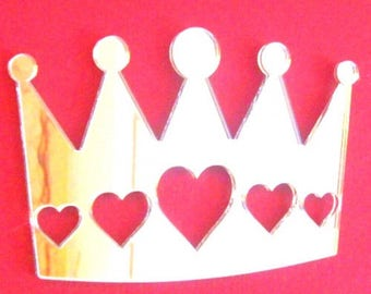 Crown of hearts Mirror - In several sizes