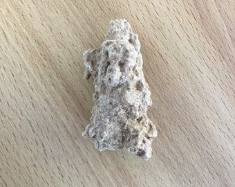 Fulgurite from Morocco