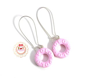 Earrings Fimo Candy Jewelry Fimo-Polo-Collection-Candy Drop Earrings.