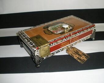 Fuente Magnum R Cigar Box Valet, Watch Box, Gun Box, Stash Box, Jewelry Box, Authentic, Tampa