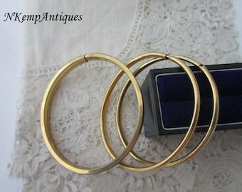 Vintage bangle bracelet x 3