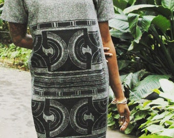 Egyptian Hawk Heather Dress