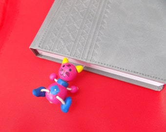 Cute Bookmark Cat Hand made Funny Amazing 3D book mark