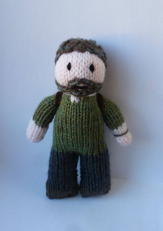 PDF knitting pattern: Joel (The Last Of Us) from