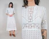 Edwardian Antique Lace Wedding Dress