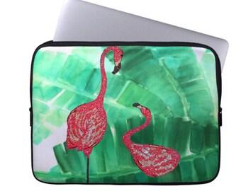Flamingo Neoprene Laptop Sleeve, Laptop Cases, Computer Case, Laptop Sleeve, Laptop Bag