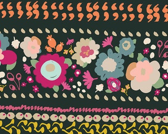 INDIE BOHEME By Pat Bravo for Art Gallery Fabrics Bohemian Quest Night