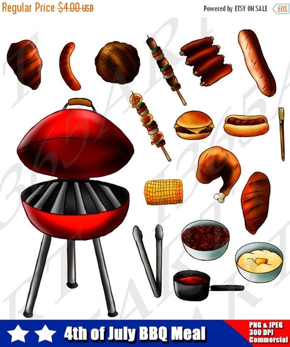 Barbecue Sale Clip Art