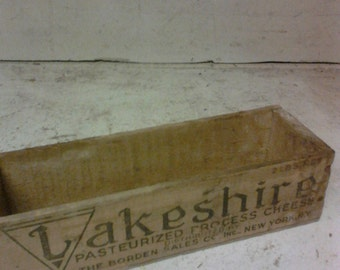 Lakeshore cheese box