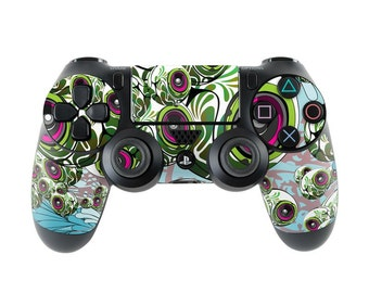 Sony PS4 Controller Skin Kit - Apples 4 Ears by Mat Miller - DecalGirl Decal Sticker