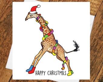 Giraffe Drawing Etsy
