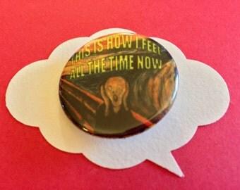 The Scream Pin | Funny art history