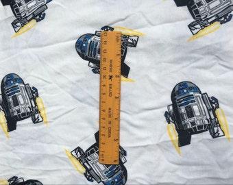 R2D2 pattern soft cloth Fabric Summer cloth 48*165 cm 1/2 yard